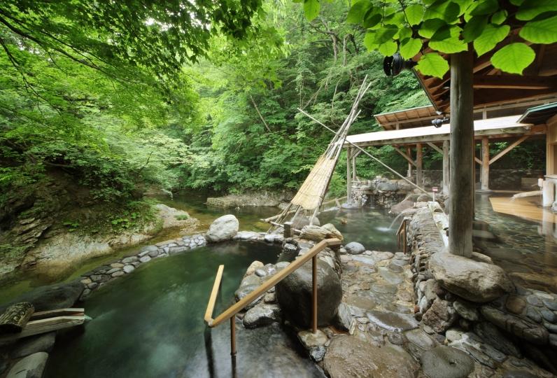 山形旅遊-山寺 作並溫泉交通、日歸溫泉:Yudukushi Salon一之坊