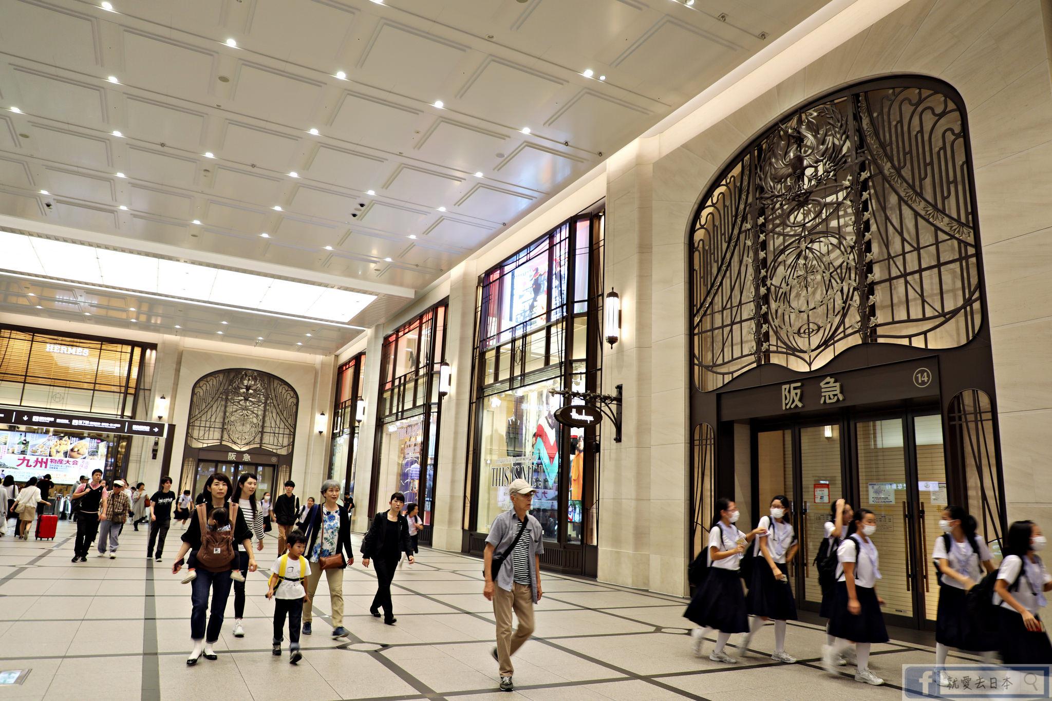 大阪 梅田 美食購物-阪急32番街景觀餐廳:鶴橋風月大阪燒、寶塚歌劇團專賣店「Quatre Rêves(四個夢)」 @愛旅行 - 右上的世界食旅