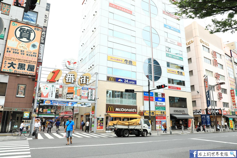 東京 赤羽十条 排隊銅鑼燒和果子名店:黒松本舗 草月&赤羽商店街散步 @右上世界食旅