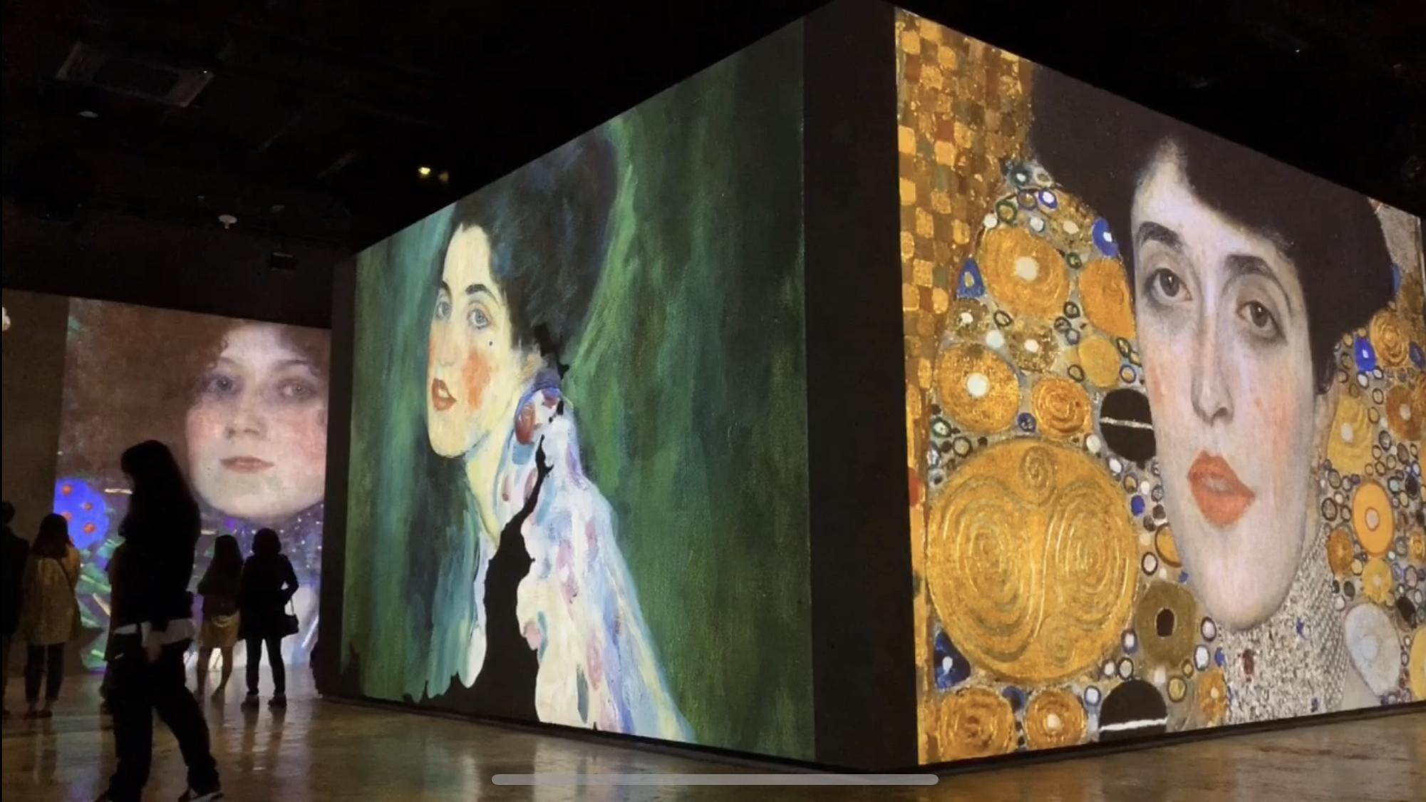 濟州島旅遊-在通訊基地看超震撼藝術展,聲光感受藝術之美:光之地堡(Bunker de Lumière)