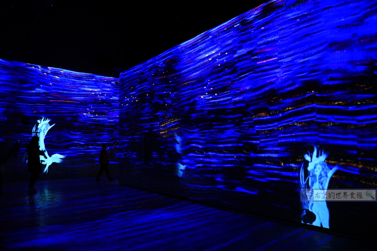 濟州島旅遊-光之地堡(Bunker de Lumière)不用飛法國!超震撼藝術展搬來濟州島,聲光感受藝術之美 @右上的世界食旅