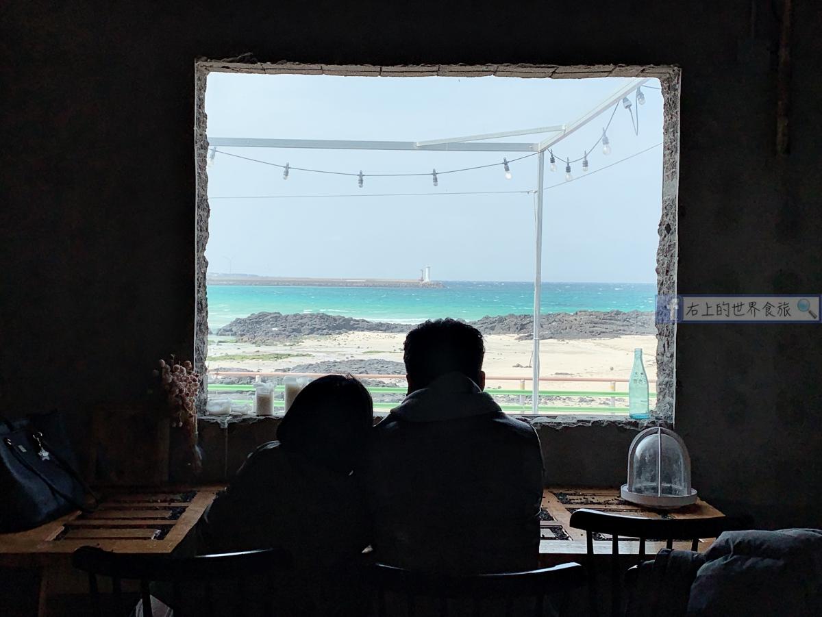 濟州島旅遊-必去的兩間文青海景、老屋咖啡廳:咖啡漢拿山、玉樹咖啡廳