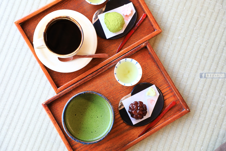 島根 松江旅遊-遠眺松江城和果子甜點屋,職人現場製作:喫茶 きはる @愛旅行 - 右上的世界食旅
