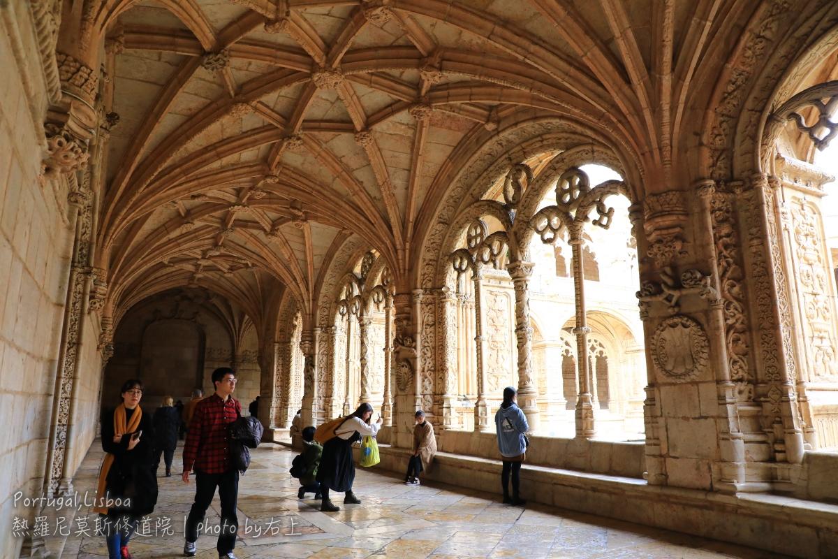 葡萄牙必去世界遺產:熱羅尼莫斯修道院Mosteiro dos Jerónimos @右上的世界食旅