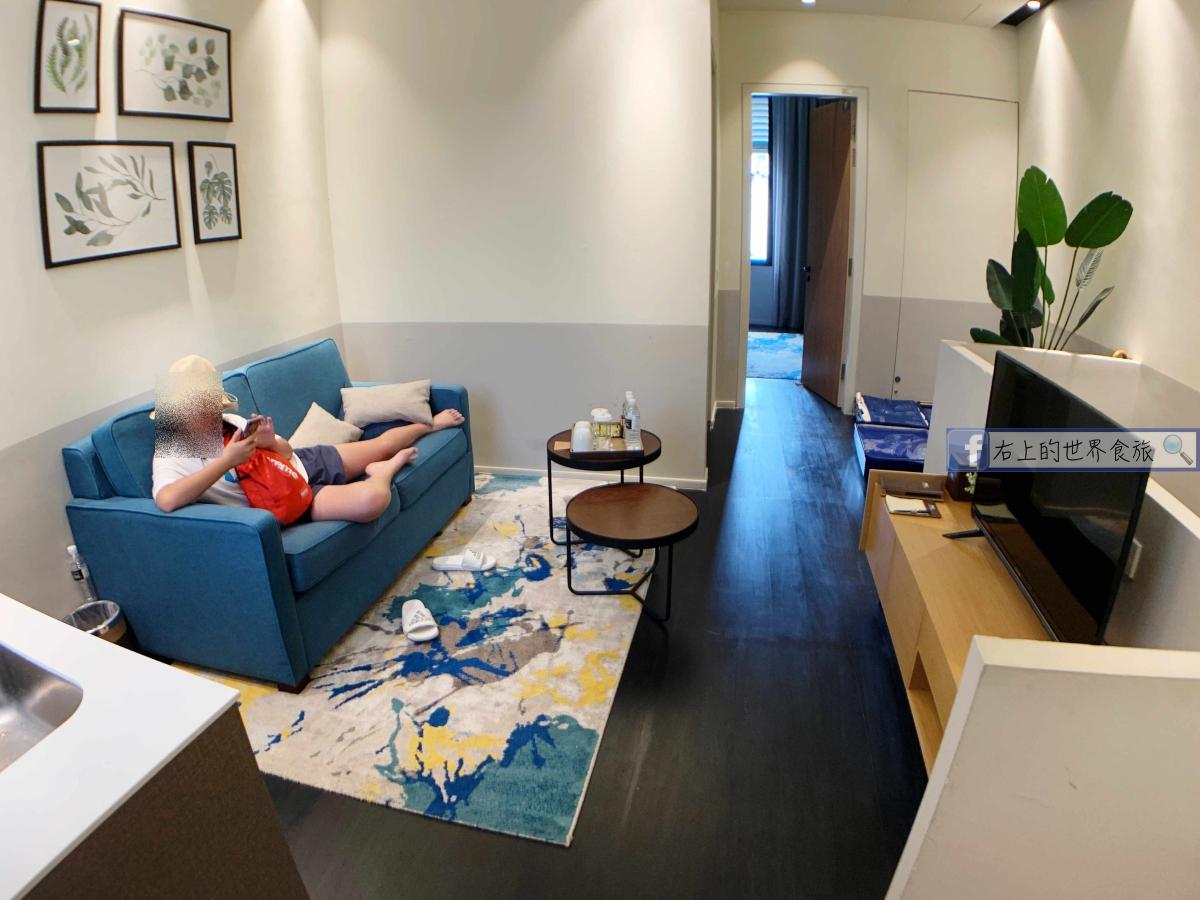新馬旅遊|檳城機場攻略&入住檳城華人區公寓風旅館Ropewalk Piazza Hotel