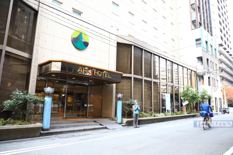 大阪飯店|ARK  HOTEL 大阪心齋橋:心齋橋地鐵站徒步1分.便宜方便、窮遊超推薦