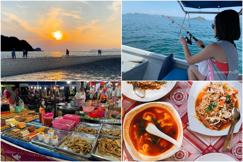 新馬行程5|蘭卡威二日行:OUTLET巧克力買到爽.Tanjung Rhu Beach海灘午餐、看日落.出海釣魚.流動夜市開眼界