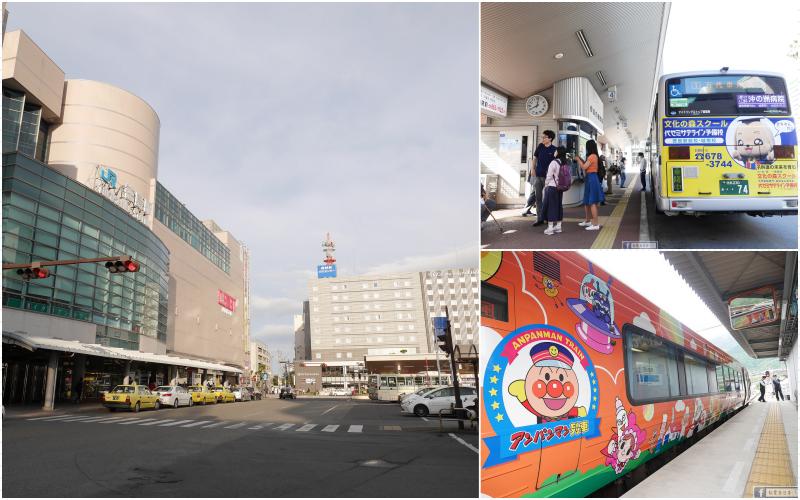 德島交通懶人包:巴士、火車與關西機場來回+松茂站.物產館導覽