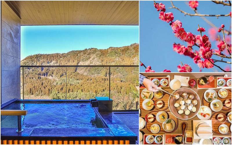 九州-大分旅遊 飯店:很難訂的奥日田溫泉うめひびき、日田大山梅花祭、想夫戀炒麵