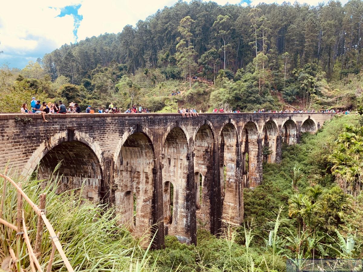 斯里蘭卡7|艾拉(Ella)旅遊勝地:九拱橋Nine Arches Bridge.入住茶園風景飯店:Ornateview Hotel