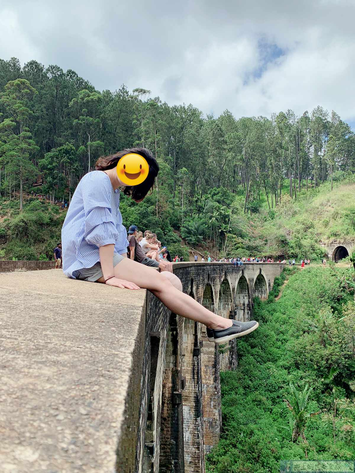 斯里蘭卡7-艾拉Ella:九拱橋Nine Arches Bridge.茶園風景飯店&Ella住宿推薦 @右上的世界食旅