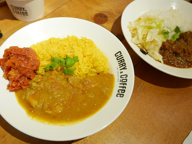 【南京三民站美食】CURRY&COFFEE by Fujin @右上的世界食旅