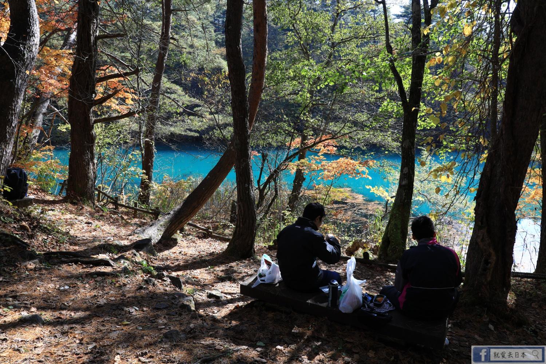 福島旅遊-五色沼.賞楓美景實訪,東北推薦最美步道景點 @右上的世界食旅