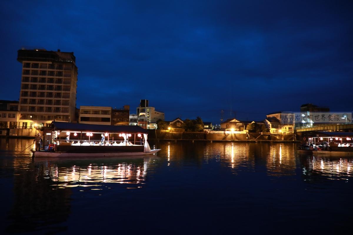 大分 日田溫泉旅館-屋型船晚餐.小鎮河景:ひなの里 山陽館