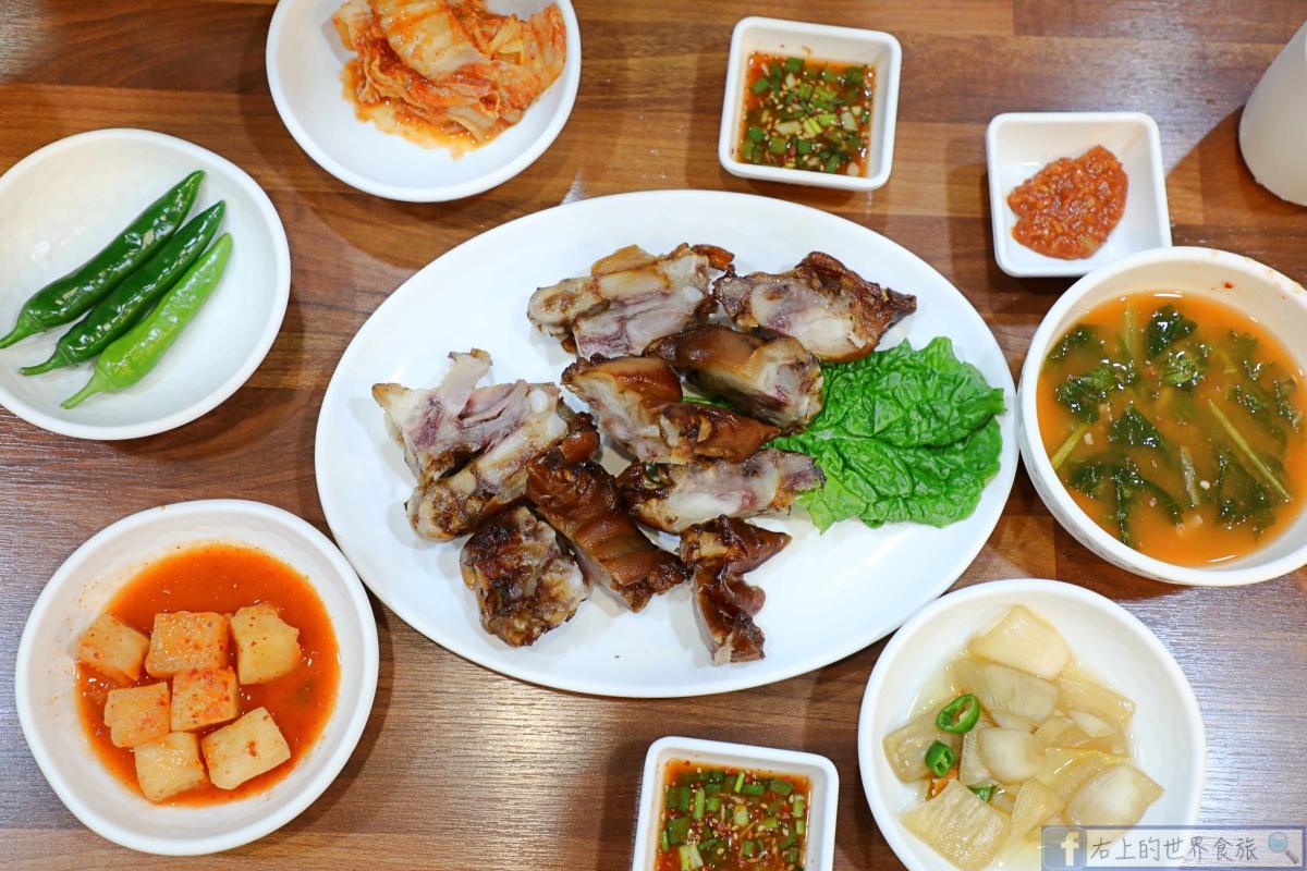 濟州島美食-麵條文化一條街「麵條庭院」吃地產美食:黑豬肉拉麵 @右上的世界食旅