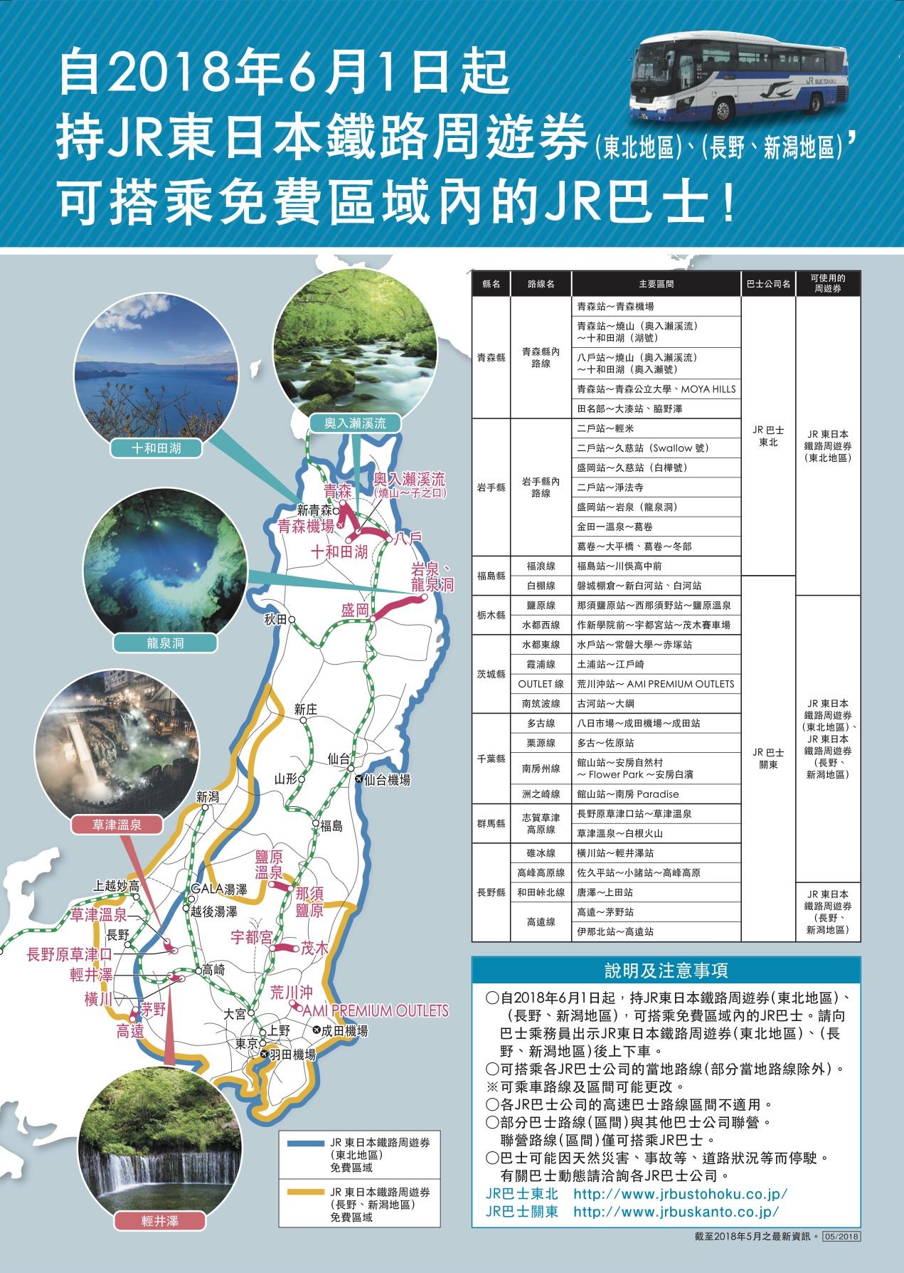 東北交通-JR EAST PASS東日本鐵路周遊券(東北地區) @愛旅行 - 右上的世界食旅