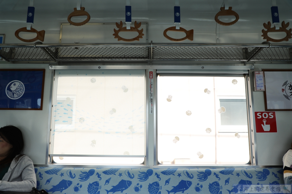 和歌山旅遊|南海電鐵加太線鯉魚列車.無敵海景cafe Glück @右上的世界食旅