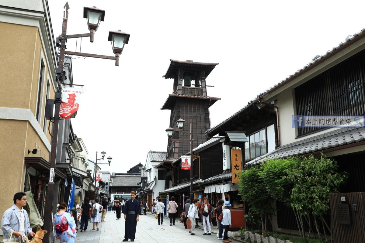 埼玉旅遊-川越老街怎麼去?一日遊覽路線、購物景點推薦