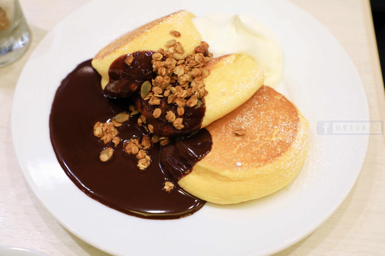 神戶美食:超推薦美味必吃舒芙蕾鬆餅-幸福的鬆餅(幸せのパンケーキ 神戸店)
