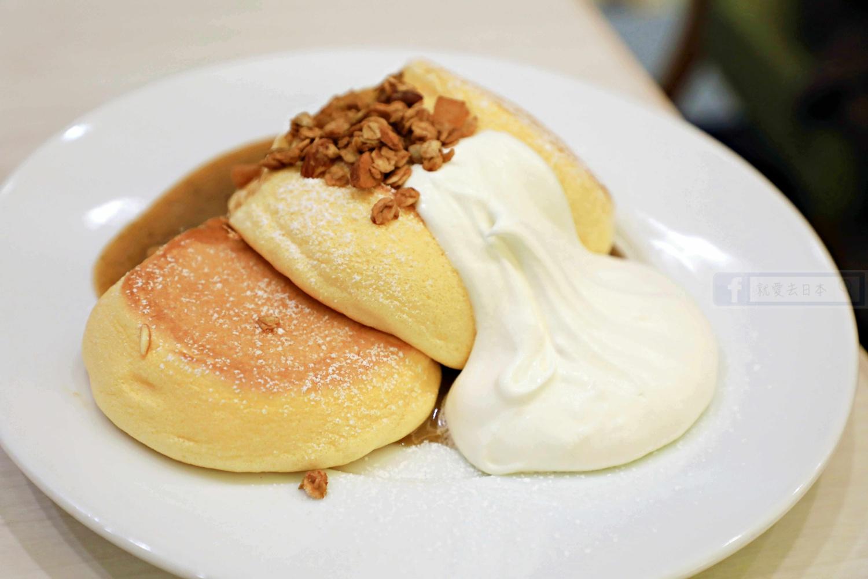 神戶美食-必吃甜點舒芙蕾鬆餅:幸福的鬆餅(幸せのパンケーキ 神戸店) @右上的世界食旅