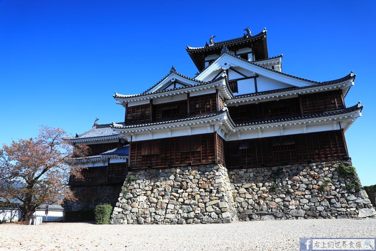 京都 景點-福知山城:明智光秀建城.雜亂的石垣是一大特色 @愛旅行 - 右上的世界食旅