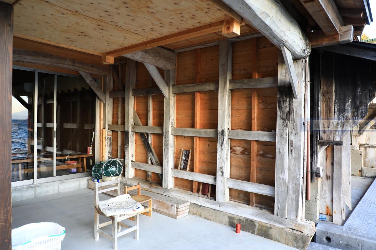京都 伊根町住宿推薦-伊根的舟屋 雅:唯一含溫泉的舟屋旅館.提供包棟獨立空間 @右上的世界食旅