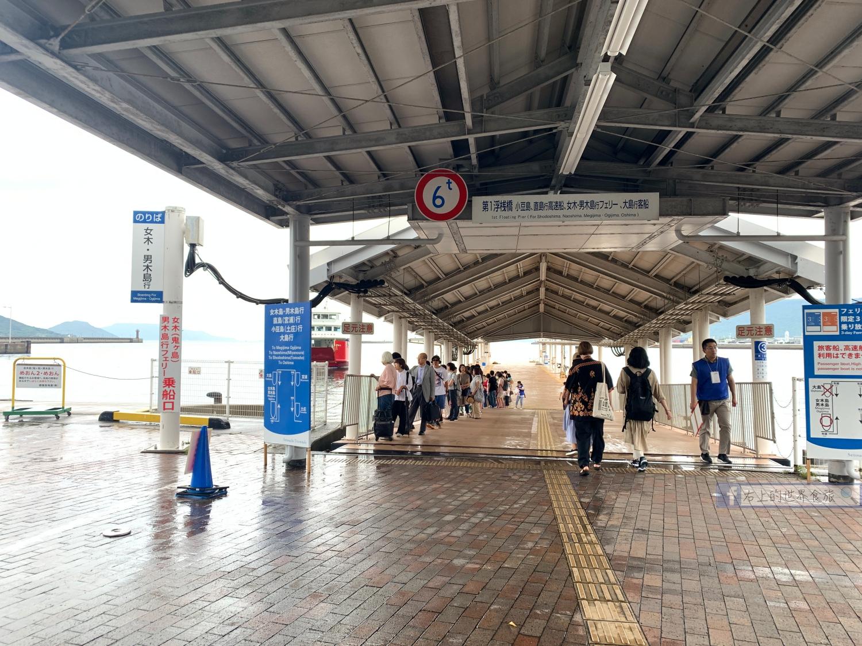 香川旅遊-男木島、女木島一日行程:貓咪.藝術品.瀨戶內海跳島之旅 @右上的世界食旅