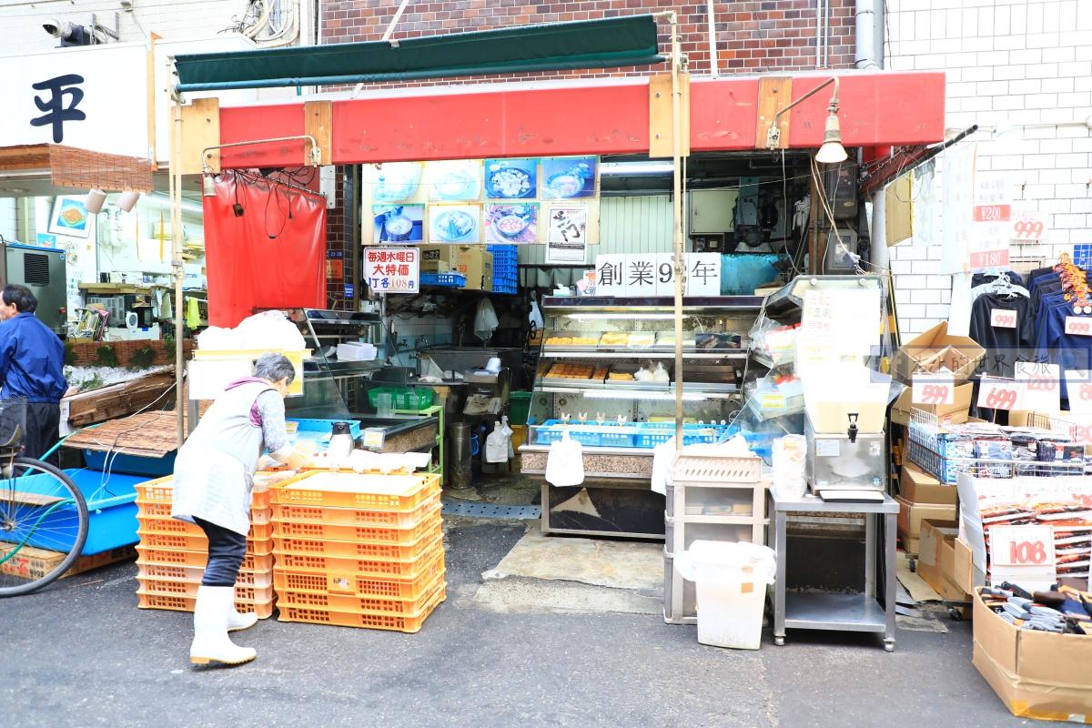 大阪旅遊-黑門市場:已不是大阪人的胃,是觀光客的胃!早餐大啖海鮮、關西美食 @愛旅行 - 右上的世界食旅