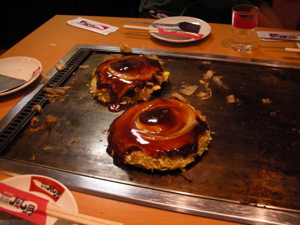 2008/10京阪3人行~味覺。鶴橋風月 @愛旅行 - 右上的世界食旅