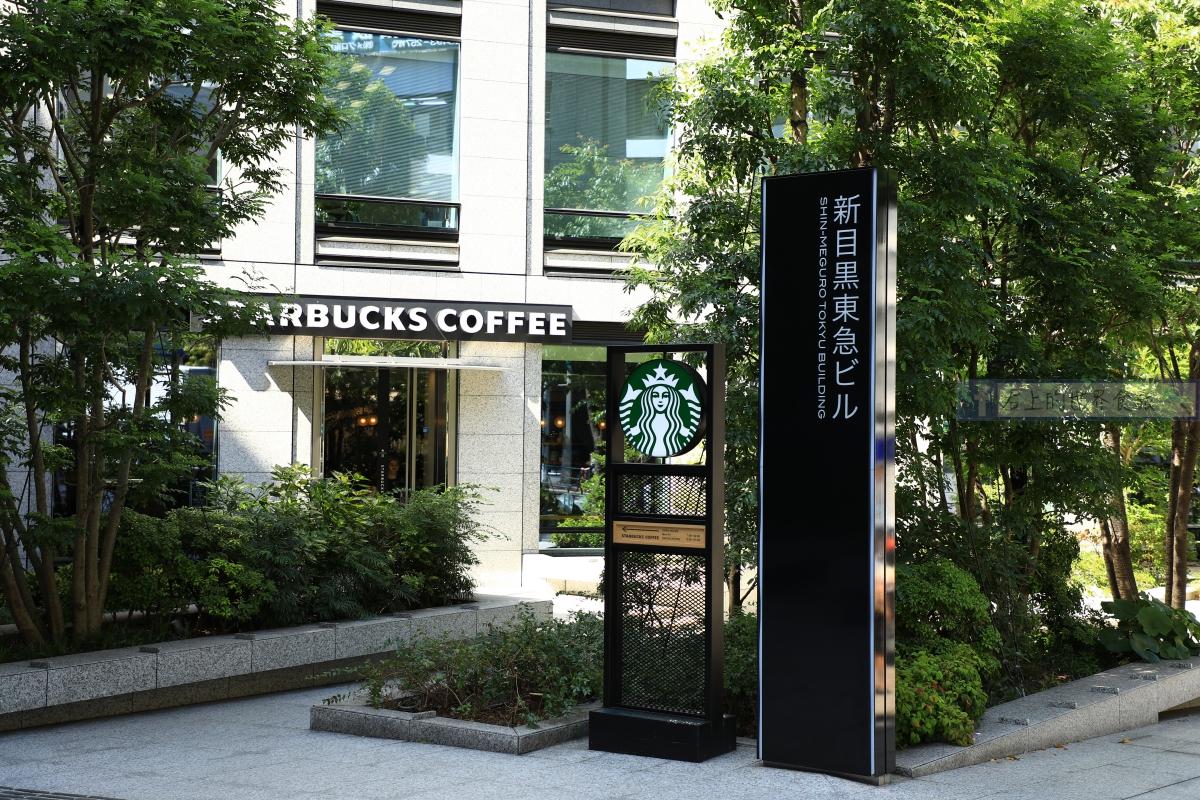 東京旅遊-星巴克概念店:目黑店,