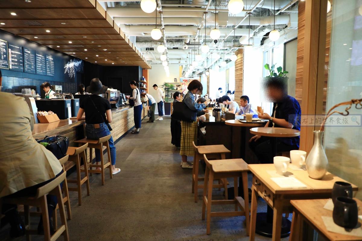 東京 目黑旅遊|星巴克目黑概念店,用心款待精品咖啡概念店 @右上的世界食旅