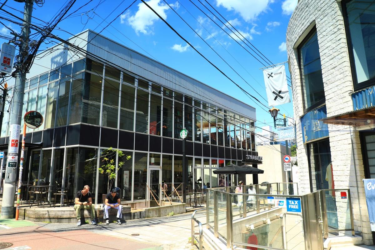 東京旅遊-星巴克概念店:表參道B-SIDE店