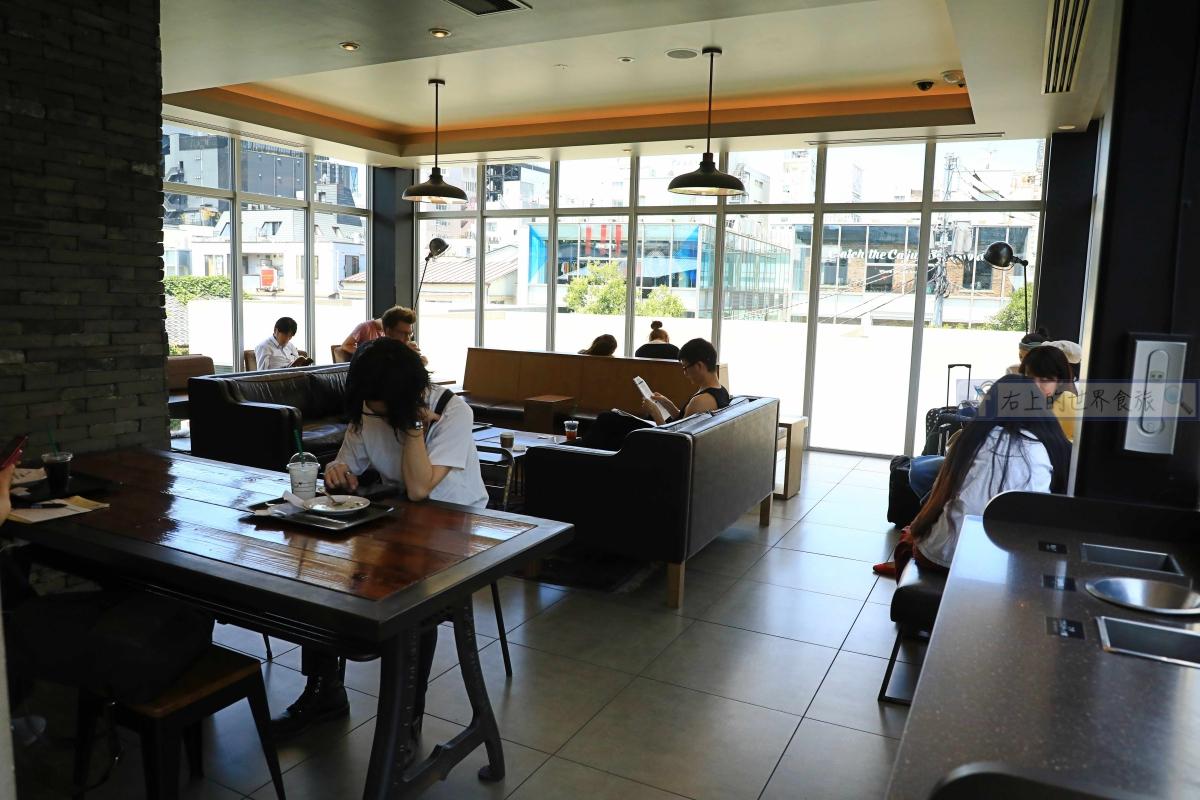 東京旅遊-名家設計的都市綠洲.星巴克概念店:表參道B-SIDE店 @愛旅行 - 右上的世界食旅