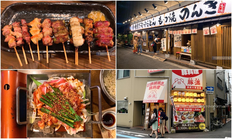 高松美食居酒屋:豬肉料理專賣「豚滿」.東京獨家醬汁燒烤「のんき」
