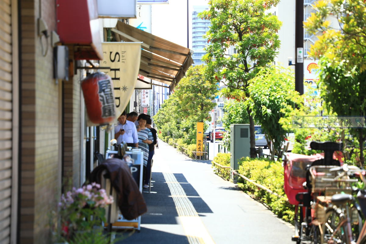 東京旅遊 老街美食-砂町銀座商店街.超高CP值海鮮丼:海幸 @愛旅行 - 右上的世界食旅