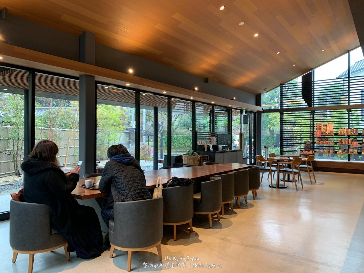 和風星巴克又一間!超美秋楓春櫻庭院:京都宇治平等院表參道店 @右上的世界食旅