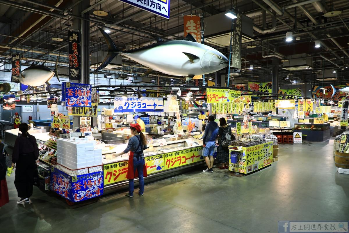 和歌山 白濱旅遊-關西最大海鮮市場:toretore市場(南紀白濱とれとれ市場)